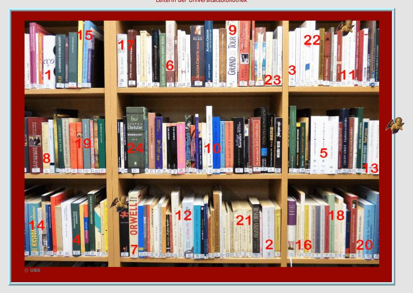 Adventskalender Universitätsbibliothek Salzburg