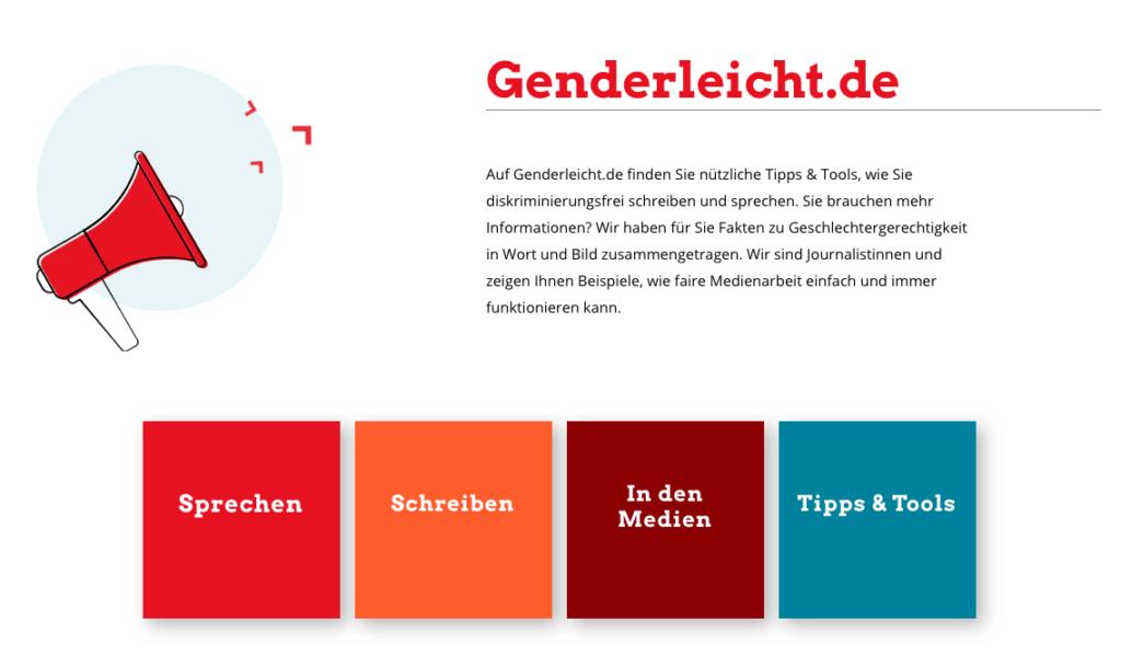 Website genderleicht.de